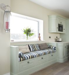 Breakfast Nook Design - banquette for seating only - no table