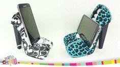 ❥DIY - Mobile Holder High Heel / Zapato Porta-Celular