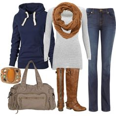 """fall season"" by sandreamarie on Polyvore"