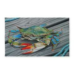 Jimmy Crab 3'X5' Area 3'X5' Area Rug