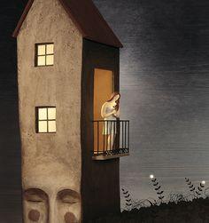 Silence at night by Irma Gruenholz, via Flickr