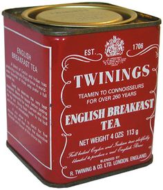 'Twinings' is British tea company established in 1706, best known for Earl Grey tea. Twining family,originally from the village of Twyning in Gloucestershire, were weavers & fullers (wool processors). Tea drinking had become popular & they quickly built a reputation for selling finest teas. In 1834,the Earl Grey, gave a sample of some tea he was given by a Chinese mandarin to Twinings, his tea m