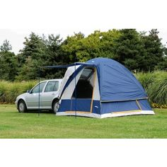 Collection of favored and popular Truck, Minivan and SUV, CUV Camping Tents. Have lots of fun with SUV Tent Camping by using an attachale truck tent from Sportz, Texsport, Coleman and other top rated brands. Best Tents For Camping, Outdoor Camping, Camping Hacks, Diy Camping, Camping Essentials, Camping Glamping, Camping Supplies, Camping Checklist, Family Camping