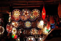 Christmas season in the Philippines..Parols!-Oh my gosh! This takes me back. Parols in the Philippines are so beautiful.