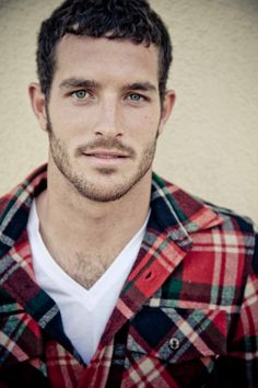 Justice Joslin in a Plaid Shirt
