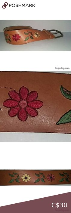 Embroidered Flowers, Vintage 70s, Vintage Leather, Plus Fashion, Fashion Tips, Belts, Women Accessories, Environment, Smoke