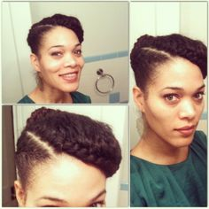 Protective style Follow BHI on Facebook & Twitter too! http://www.facebook.com/blackhairinformation https://twitter.com/#!/BlackHairInfo