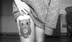cute owl tattoos tumblr