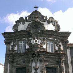 Manueline Church, Ribeira Grande, Sao Miguel, Azores.  www.blankblank.net  #Manueline #Architecture #Church #Facade #SaoMiguel #RibeiraGrande #Azores #Acores #Design