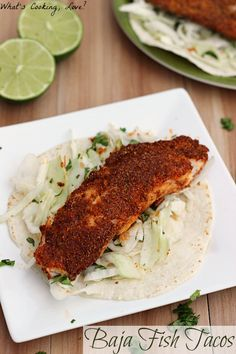 Baja Fish Tacos and McCormick Spice Giveaway - Whats Cooking Love?
