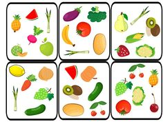 Dobble - Fruit and Vegetables Spot It, Learning Channel, Learning Skills, French Kids, Food Spot, English Fun, Preschool Education, Montessori Materials, Skills To Learn