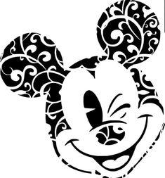 Cricut Craft Room, Cricut Vinyl, Vinyl Decals, Vinyl Crafts, Vinyl Projects, Disney Crafts, Disney Art, Mickey Mouse Clipart, Disney Silhouettes