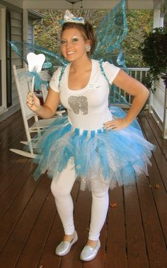My Homeade Tooth Fairy Costume...