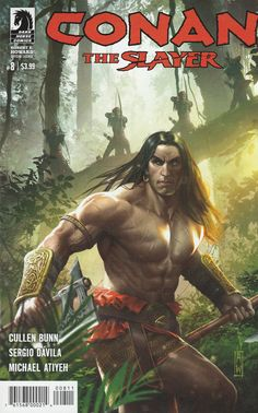 Conan the Slayer # 8 Dark Horse Comics