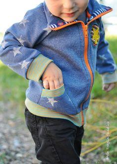 Wenn mein Sohn draußen am Himmel ein Flugzeug bzw. einen Hubschrauber sieht, geht es zur Zeit genau so:   Daaaaaaaaaaaaa! Daaaaaaaaaaaaa!   ...  Jacket pattern