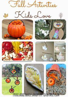 10+ Fall Activities Kids Love on FSPDT