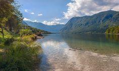 Eden Lake. HDR Lake Bohinj (Ribcev Laz) Slovenia | HDR Photography Giuseppe Sapori