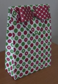 Envelope Punch Board Gift Bag - altered link below so opens up in you tube as…