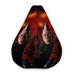 Puppet Master Little Puppet All-Over Print Bean Bag Chair w/ filling Fabric Weights, Puppets, Bean Bag Chair, Horror, Beans, Comfy, Movie, Film Movie, Bean Bag Chairs