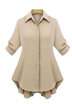 Lingswallow Womens Elegant Oversize Bowknot Tie Button Coat TShirt Blouse White * Check this awesome product by going to the link at the image.Note:It is affiliate link to Amazon.