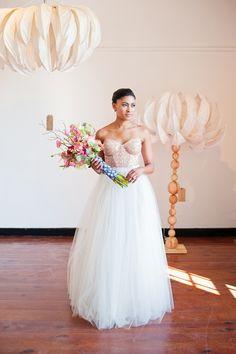 Rose Quartz by Yolande Snyders & Yellow Papaya Bridal Portraits, Rose Quartz, Flower Girl Dresses, Wedding Photography, Gowns, Weddings, Bride, Yellow, Wedding Dresses