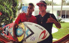 """Medina revela resenha com amigo e ídolo Neymar: """"Me pergunta do Kelly"""""""