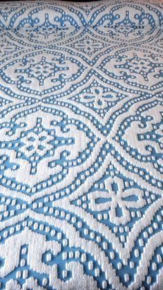 Vintage Chenille Bedspread- etsy- $189
