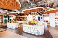 #Comedor de la #oficina de #Google en #Amsterdam