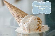 Homemade Cinnamon Ice Cream   Kailley's Kitchen