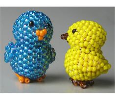 3D Chick | Bead-Patterns