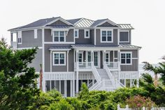Beach Home #135   Sherwin Williams Anonymous #7046 Exterior Color
