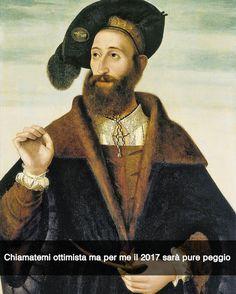 Ritratto di un uomo - Bartolomeo Veneto (1525) #seiquadripotesseroparlare