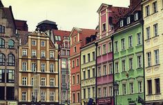 Wrocław, Poland... spent a very fun night here with a dear friend with nowhere to sleep and bars that don't close.