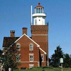 Big Bay Point Lighthouse, Big Bay, Michigan
