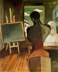 le `philosopher` et le poète - (Giorgio De Chirico)