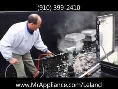http://www.mrappliance.com/leland - Check out this video of a dryer vent cleaning service done by Mr. Appliance of Leland