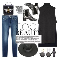"""""""cool beauty"""" by thepommier ❤ liked on Polyvore featuring ADAM, Acne Studios, Isabel Marant and Illesteva"""