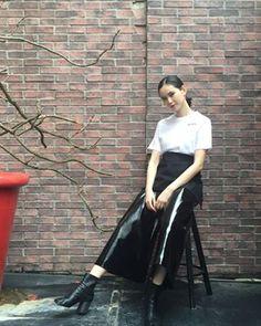 Instagram photo by AKIKO KAWACHI (@akiko_sussy) 22/06/2016 比留川游には、あたしの頭の中が丸見えなんじゃないかと思わされる♡着せたいものが通じちゃってる素敵な女性です #比留川游#YuHirukawa#Cry.#crybabies