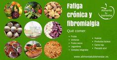 Fibromialgia y fatiga crónica: qué comer