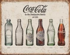 There's something special about coca-cola and there's also something very retro about tin signs. Add coca-cola and tin signs together and you have something that adds a certain je ne sais pas to your home decor.