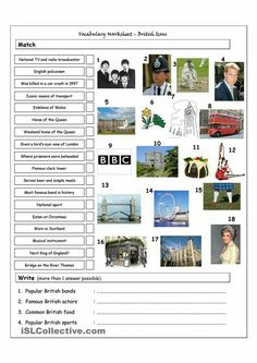 London | Arbeitsblätter | Pinterest | Arbeitsblätter