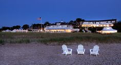 Chatham Bars Inn on 25 acres overlooking Pleasant Bay on Cape Cod, Massachusetts