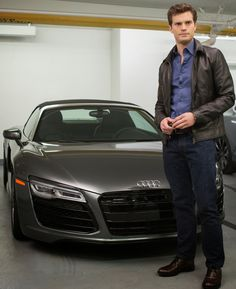 Christian with one of his cars #FiftyShades