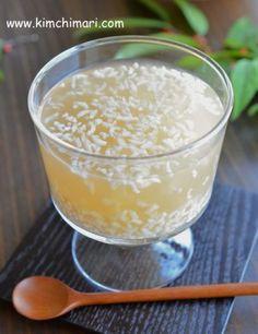 Korean Sweet Rice Punch (식혜 Shikhye/Sikhye)