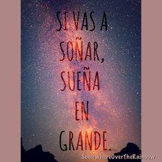 #frases #español #motivación #actitud #emprendimiento #éxito #vida 🙏👍💪 Síguenos en facebook.com/SomewhereOverTheRainbowFrasesVida