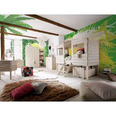Dětský pokoj z borovicového dřeva