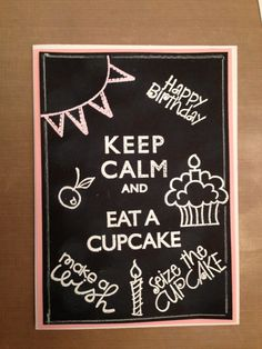 My very own chalkboard card with Stampin Up and Papersmooches