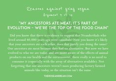 'Arguments Against Veganism' is a series of 14 common arguments given by meat-eaters, with their simple, research-backed counter-arguments. Veganism, Going Vegan, Did You Know, Knowing You, Counter, Meat, Simple, Food, Essen
