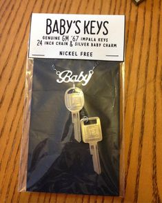 Baby's Keys Supernatural Inspired Necklace with 1967 Impala Keys and Baby Charm etsy TraceyGurney Supernatural Impala, Supernatural Cosplay, Supernatural Baby, Supernatural Bloopers, Supernatural Tumblr, Supernatural Tattoo, Supernatural Imagines, Supernatural Wallpaper, Supernatural Convention