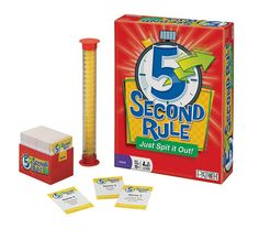 Kids and tweens love the top summer toys and board games like Five Second Rule in The Toy Insider's best 2015 toy reviews for girls toys and boys toys.